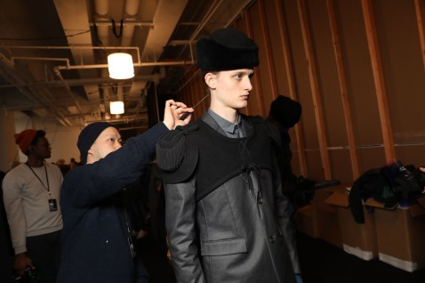 Robert-Geller-Fall-2017-mens-fashion-show-backstage-the-impression-090