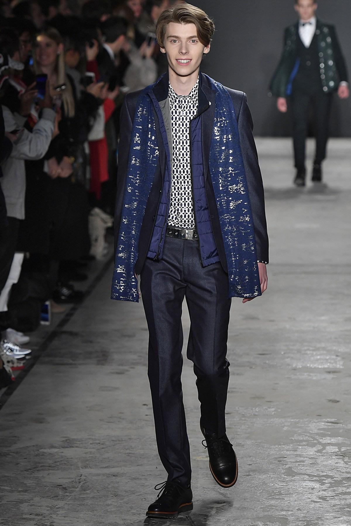 Nick Graham Fall  Menswear Fashion Show