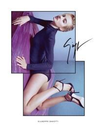 Giuseppe Zanotti Spring 2017 Ad Campaign