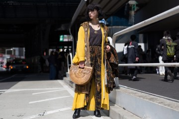 Tokyo Fashion Week Street Style Day 1 Fall 2017