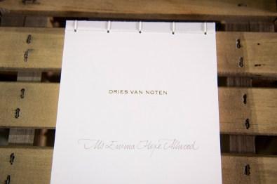 Van Noten atm RF17 0336