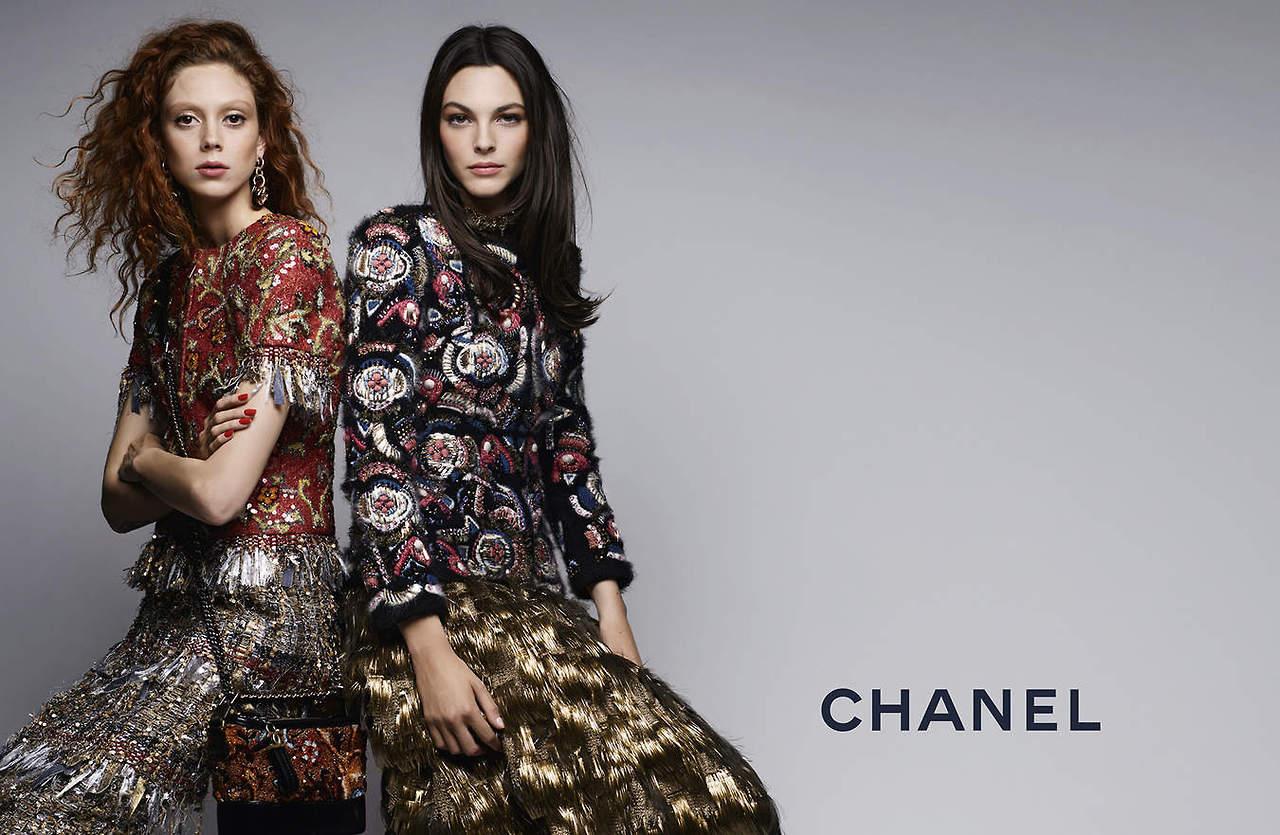 Chanel's Pre-Fall 2019 Campaign Features Natalie Westling Vittoria Ceretti pics
