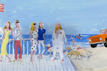"Moncler x Jean-Philippe Delhomme for ""Postcards"" a Summer Capsule Collection"