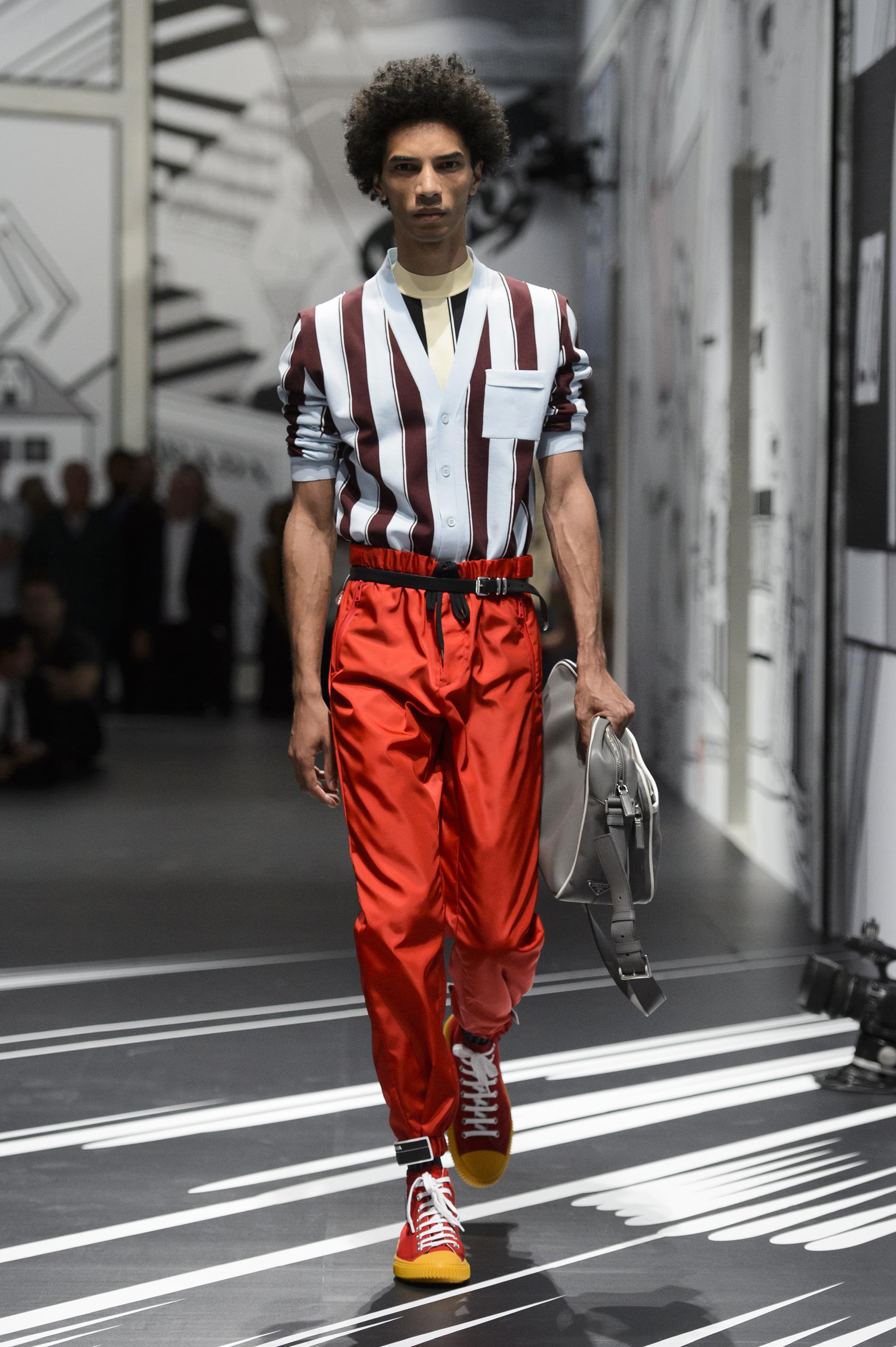 Prada Spring 2018 Mens Fashion Show The Impression