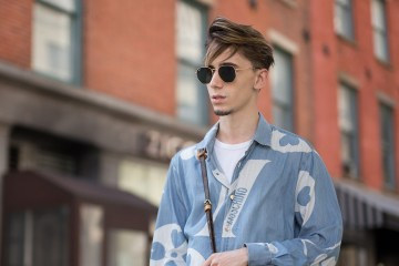 New York Fashion Week Men's Street Style Spring 2018 Day 1