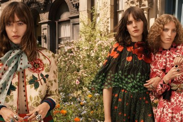 Gucci debuts 'Bloom' Perfume Campaign and Opens Harrods Pop-up