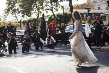 Paris Fashion Week Street Style Spring 2018 Day 1 Cont.