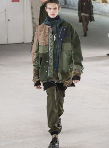 Sacai Fall 2018 Men's Fashion Show