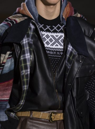 Y Project Fall 2018 Men's Fashion Show Details