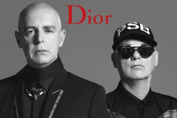 Dior Homme Summer 2018 Ad Campaign with the Pet Shop Boys
