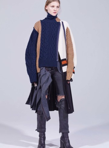 Sacai Pre-Fall 2018 Lookbook