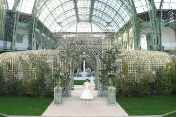 Chanel Spring 2018 Couture Fashion Show Atmosphere