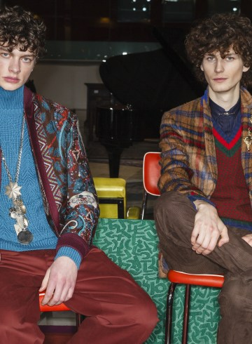 Etro Fall 2018 Men's Fashion Show
