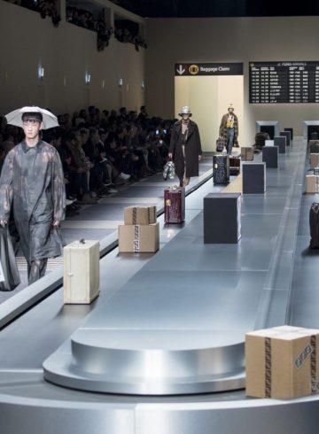 Fendi Fall 2018 Men's Fashion Show Atmosphere