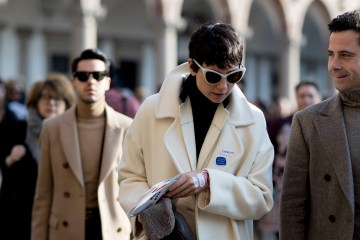 Milan Men's Street Style Fall 2018 Day 2