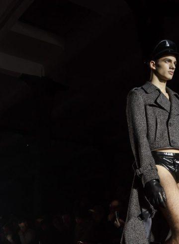 Moschino Fall 2018 Men's Fashion Show Atmosphere