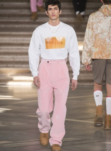 MSGM Fall 2018 Men's Fashion Show