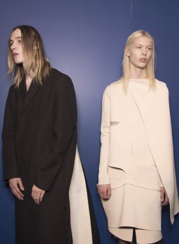 Rick Owens Fall 2018 Men's Fashion Show Backstage