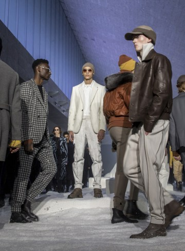 Ermenegildo Zegna Fall 2018 Men's Fashion Show Atmosphere