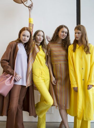 Mansur Gavriel Spring 2018 Fashion Show Backstage