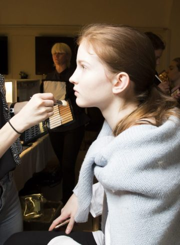 Mulberry Spring 2018 Fashion Show Backstage Beauty