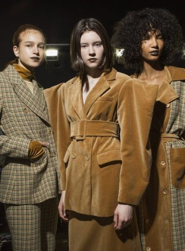 Annakiki Fall 2018 Fashion Show Backstage