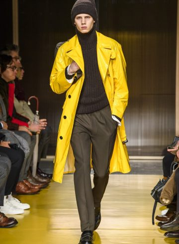 Boss Fall 2018 Men's Fashion Show