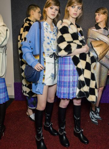 Marco de Vincenzo Fall 2018 Fashion Show Backstage