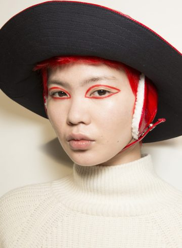 Eudon Cho Fall 2018 Fashion Show Backstage