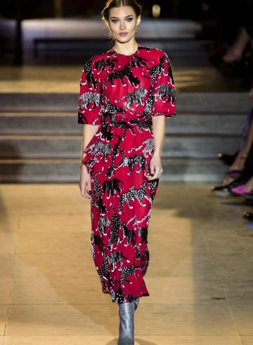 Carolina Herrera Fall 2018 Fashion Show