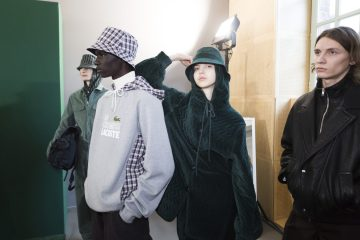 Lacoste Fall 2018 Fashion Show Backstage
