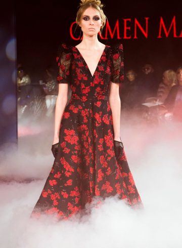 Carmen Marc Valvo Fall 2018 Fashion Show
