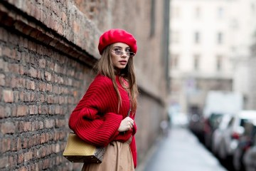 Milan Fashion Week Street Style Fall 2018 Day 3