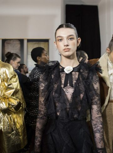Philosophy di Lorenzo Serafini Fall 2018 Fashion Show Backstage Cont.