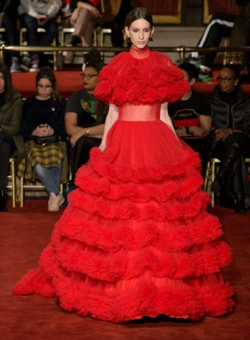 Christian Siriano Fall 2018 Fashion Show