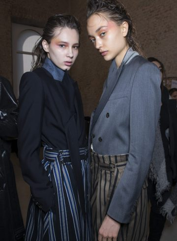 Ujoh Fall 2018 Fashion Show Backstage