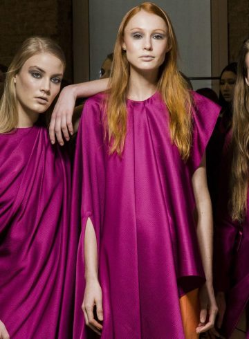 Alberto Zambelli Fall 2018 Fashion Show Backstage