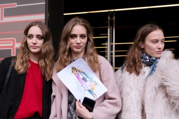 Off-Duty Models - Milan Fashion Week Street Style Fall 2018 by Poli Alexeeva