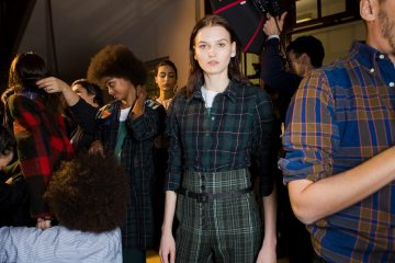 Carven Fall 2018 Fashion Show Backstage