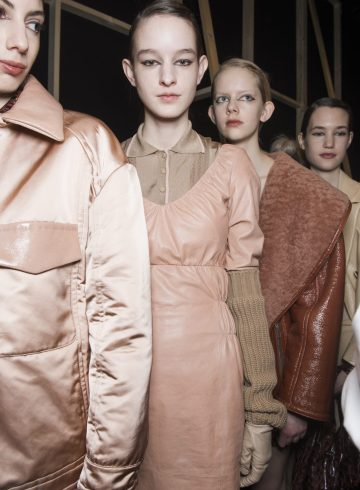 Drome Fall 2018 Fashion Show Backstage