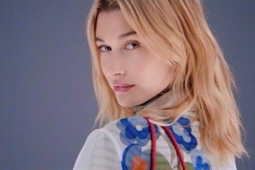 Fendi Tropical Futurism 2018 Films Starring Hailey Baldwin