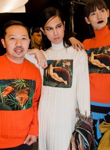 Kenzo La Collection Memento No.3 Fall 2018 Fashion Show Backstage