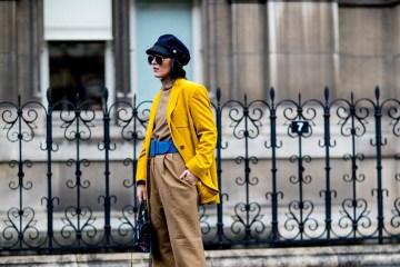 Paris Fashion Week Street Style Fall 2018 Day 4