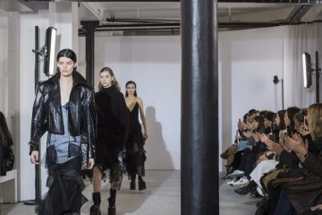 Olivier Theyskens Fall 2018 Fashion Show Atmosphere