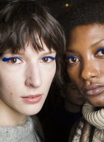 Christian Wijnants Fall 2018 Fashion Show Backstage Beauty