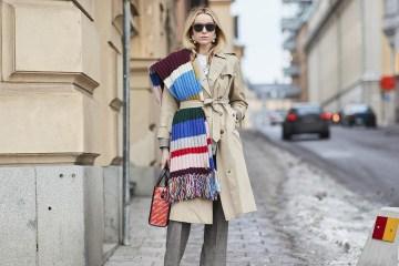 Stockholm Fashion Week Street Style Fall 2018 Day 2