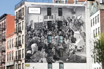 Gucci Pre-fall Art Walls Milan, New York