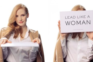 Ralph Lauren Lead Like a Woman campaign with Jessica Chastain