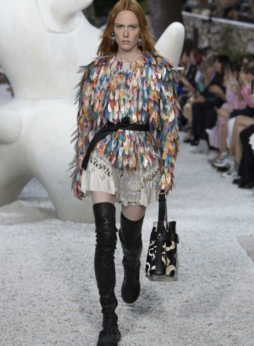 Louis Vuitton Cruise 2019 Fashion Show