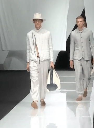 Giorgio Armani Spring 2019 Men's Fashion Show Film. All the Spring 2019 Men's fashion shows from Paris Fashion Week in one place on The Impression.